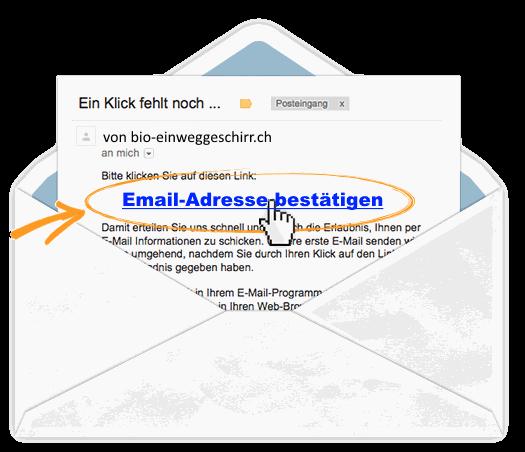 Email-Adresse bestätigen